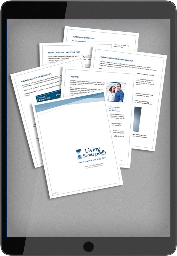 5 Keys to Living a Strategic Life e-Book